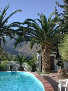 Cortijo Romero Pool With Mountains